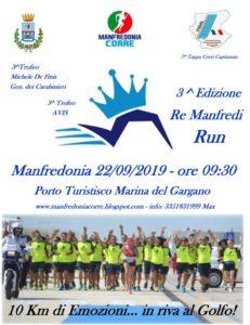 locandina re manfredi run 2019