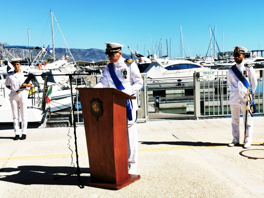 Cerimonia Passaggio di consegna Comando COMPAMARE Manfredonia