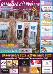locandine presepe Alex 2019